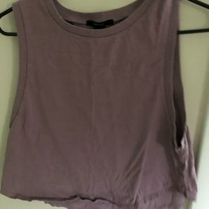 Forever 21 cropped muscle tank